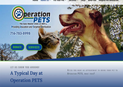 Operation PETS The Spay/Neuter Clinic of WNY